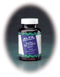DROPPED: Alta Health - Pau D'arco (Herbal Extract) - 100 Capsules