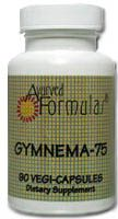 DROPPED: Advanced Orthomolecular Research - Gymnema-75 - 80 Vegetarian Capsules