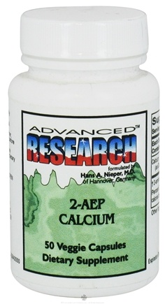 DROPPED: Advanced Research - 2-AEP Calcium - 50 Vegetarian Capsules CLEARANCE PRICED