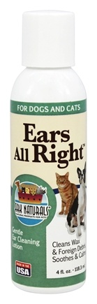 DROPPED: Ark Naturals - Ears All Right For Dogs & Cats - 4 oz.