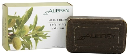 DROPPED: Aubrey Organics - Meal & Herbs Exfoliating Bath Bar - 4 oz. Formerly Exfoliation Skin Care Bar