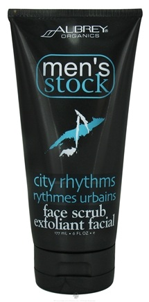 DROPPED: Aubrey Organics - Men's Stock City Rhythms Face Scrub - 6 oz. CLEARANCE PRICED