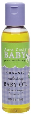DROPPED: Aura Cacia - Baby Calming Baby Oil - 4 oz. CLEARANCE PRICED