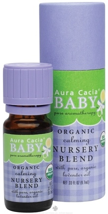DROPPED: Aura Cacia - Baby Essential Oil Calming Nursery Blend - 0.33 oz. CLEARANCE PRICED