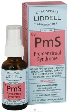DROPPED: Liddell Laboratories - PmS Premenstrual Syndrome Homeopathic Oral Spray - 1 oz.