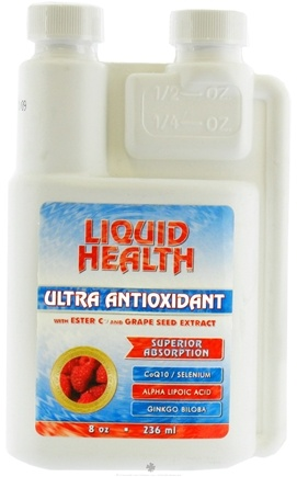 DROPPED: Liquid Health - Ultra Antioxidant CLEARANCE PRICED - 8 oz.