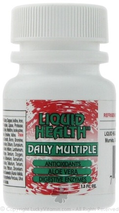 DROPPED: Liquid Health - Daily Multiple Vitamin & Mineral Liquid - 1.2 oz.