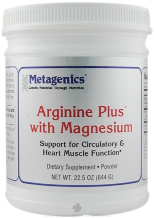 DROPPED: Metagenics - Arginine Plus with Magnesium - 22.5 oz.