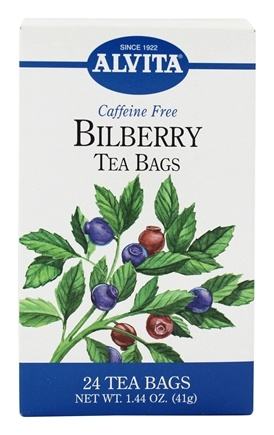 DROPPED: Alvita - Bilberry Caffeine Free - 24 Tea Bags