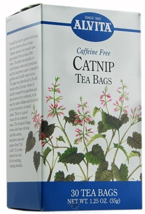 DROPPED: Alvita - Catnip Caffeine Free - 30 Tea Bags CLEARANCE PRICED