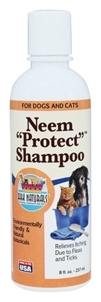 Ark Naturals - Neem Protect Shampoo For All Pets - 8 Oz.