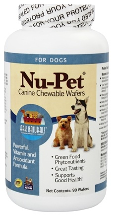Ark Naturals - Nu-Pet Canine Chewable Wafers - 90 Wafers