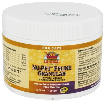 DROPPED: Ark Naturals - Nu-Pet Feline Antioxidant - 150 Grams CLEARANCE PRICED