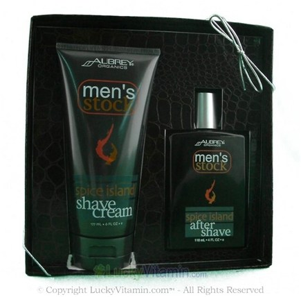 DROPPED: Aubrey Organics - Men's Stock Gift Set- Spice Island - 1 Gift Set
