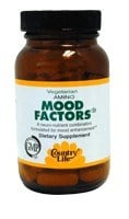 DROPPED: Country Life - Mood Factors - 60 Tablets