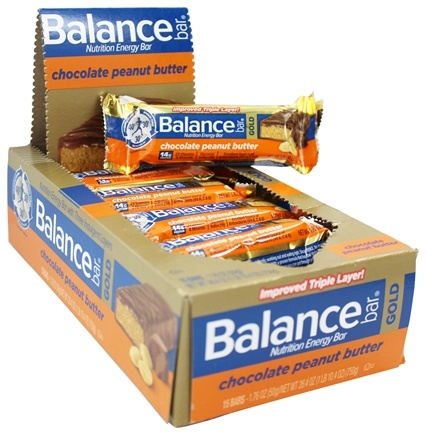 DROPPED: Balance - Nutrition Energy Bar Gold Chocolate Peanut Butter - 1.76 oz.