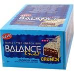 DROPPED: Balance - Nutrition Energy Bar Gold Crunch Cookie & Cream - 1.76 oz.