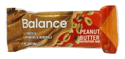 DROPPED: Balance - Nutrition Energy Bar Original Peanut Butter - 1.76 oz.
