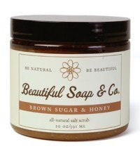 DROPPED: Beautiful Soap & Co. - Sugar Scrub Brown Sugar & Honey - 12 Oz.