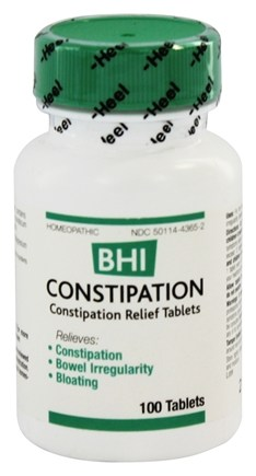 BHI/Heel - Constipation - 100 Tablets