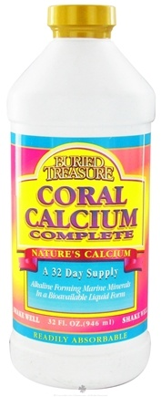 DROPPED: Buried Treasure Products - Coral Calcium Complete - 32 oz. CLEARANCE PRICED