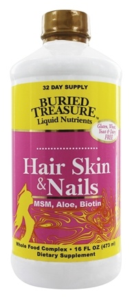 Buried Treasure Products - Hair, Skin, and Nails Complete - 16 oz.
