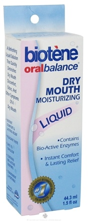 DROPPED: Biotene Dental - Oral Balance Dry Mouth Moisturizing Liquid - 1.5 oz.