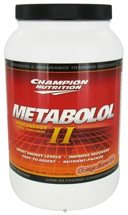 DROPPED: Champion Performance - Metabolol II Orange Smoothie - 2.2 lbs.