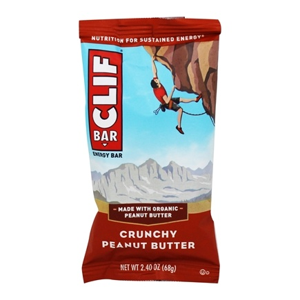 Clif Bar - Energy Bar Crunchy Peanut Butter - 2.4 oz.