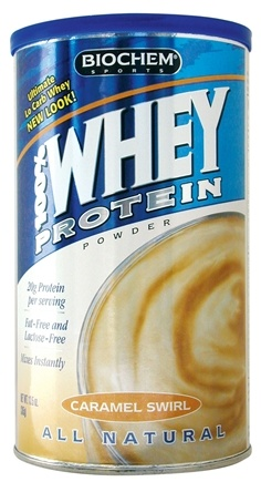 DROPPED: Biochem by Country Life - Low Carb Caramel Cream Powder - 12 oz.