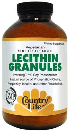DROPPED: Country Life - Lecithin Granules - 8 oz.