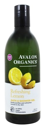 Avalon Organics - Bath & Shower Gel Lemon - 12 oz.