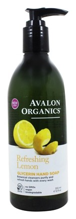 Avalon Organics - Glycerin Hand Soap Lemon - 12 oz.