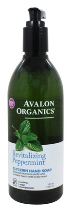 Avalon Organics - Glycerin Hand Soap Peppermint - 12 oz.