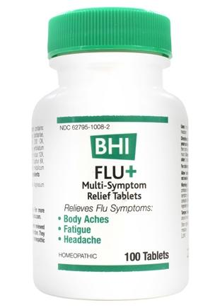 BHI/Heel - Flu+ - 100 Tablets Formerly Flu Plus
