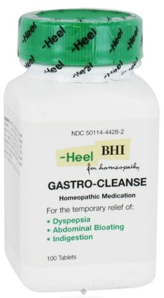 DROPPED: BHI/Heel - Gastro-Cleanse - 100 Tablets