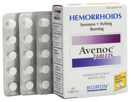 DROPPED: Boiron - Avenoc Tablets - 60 Tablets