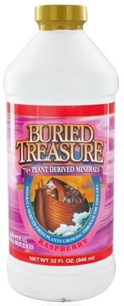 DROPPED: Buried Treasure Products - Liquid Plant Derived Minerals Raspberry - 32 oz.