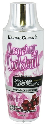 DROPPED: BNG Enterprises - Herbal Clean Cleansing Cocktail Malibu Grape Flavor - 12 Oz.