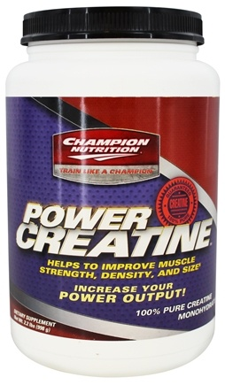 Champion Performance - Power Creatine 100% Creapure Pre-Workout - 2.2 lbs.