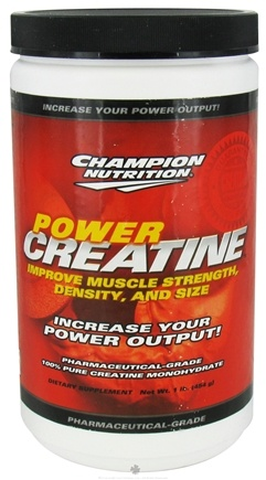 DROPPED: Champion Performance - Power Creatine - 1 lb. CLEARANCE PRICED