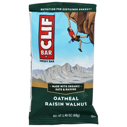 Clif Bar - Energy Bar Oatmeal Raisin Walnut - 2.4 oz.