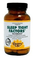 DROPPED: Country Life - Sleep Tight Factors Maximized - 60 Tablets