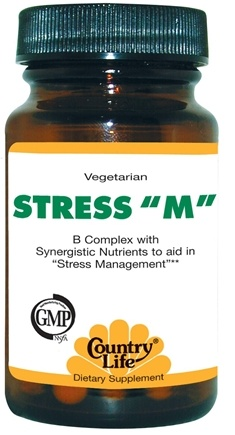 DROPPED: Country Life - Stress M - 60 Tablets