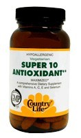 DROPPED: Country Life - Super 10 Antioxidant Formula Maximized - 30 Tablets
