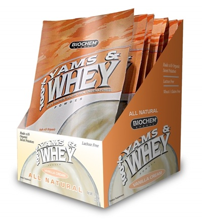 DROPPED: Biochem by Country Life - 100% Yams & Whey Vanilla Cream Packet - 1 oz.