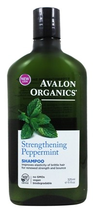 Avalon Organics - Shampoo Strengthening Peppermint - 11 oz.