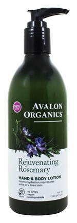 Avalon Organics - Hand & Body Lotion Rosemary - 12 oz.