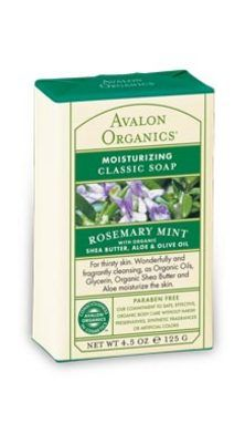 DROPPED: Avalon Organics - Moisturizing Classic Soap Rosemary Mint - 4.5 oz.