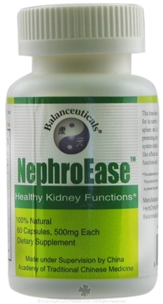 DROPPED: Balanceuticals - NephroEase - 60 Capsules CLEARANCE PRICED